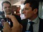 G1 acompanha passagem de Sérgio Moro pelo Congresso Nacional