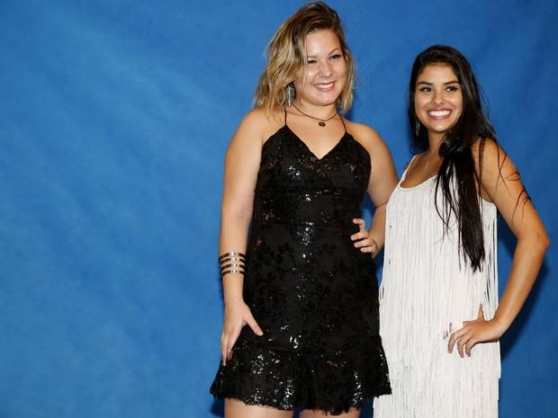 Maria Claudia e Munik na final do 'Big Brother Brasil 16' (Foto: Marcos Serra Lima/ EGO)
