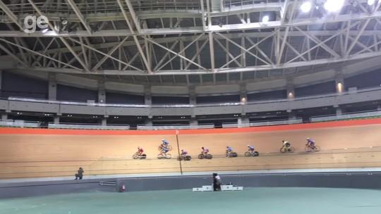 Velódromo mais rápido do mundo reabre 8 meses após a Olimpíada para Estadual