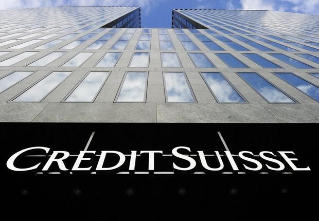 Sede do banco Credit Suisse na Suíça (Foto: Michael Buholzer/REUTERS)