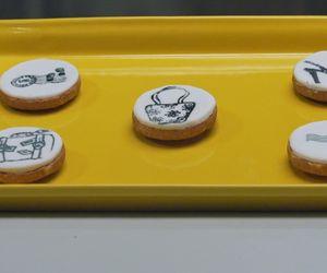 Como fazer biscoito decorado com carimbo