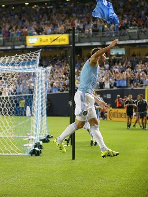 David Villa, New York City x D.C. United (Foto: Reprodução / Instagram)