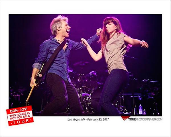 Jon Bon Jovi e a filha, Stephanie (Foto: Instagram)