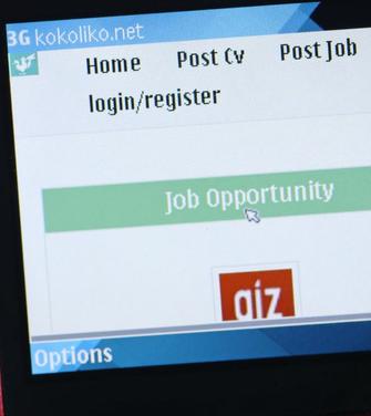 Internet.org, para Android, ajuda a encontrar vagas de emprego no Zâmbia (Foto: Divulgação/Facebook)