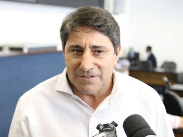 Coronel Pacheco (PTB) é vice do candidato à Prefeitura de Goiânia Francisco Júnior (PSD) Goiás (Foto: Divulgação/Jackson Rodrigues)