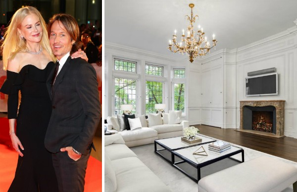 A casa de 168 milhões comprada pelo marido da atriz Nicole Kidman, o cantor Keith Urban (Foto: Getty Images/Divulgação)