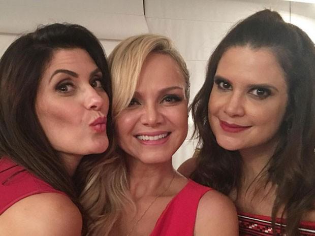 Isabella Fiorentino, Eliana e Mariana Kupfer em festa em São Paulo (Foto: Instagram/ Reprodução)