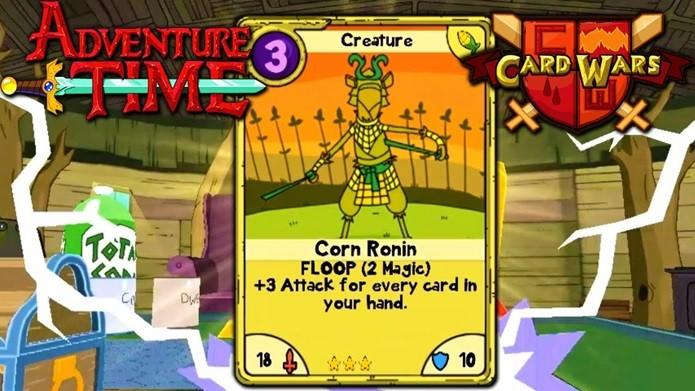 Card Wars leva aos celulares o game de cartas jogado pelos personagens no desenho (Foto: Divulgação)