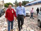 Roberto Carlos vota no Espírito Santo nesta manhã