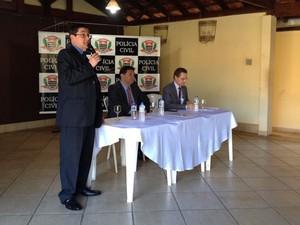 Reunião ocorreu nesta quinta-feira (22), em Presidente Prudente (Foto: Wellington Roberto/G1)