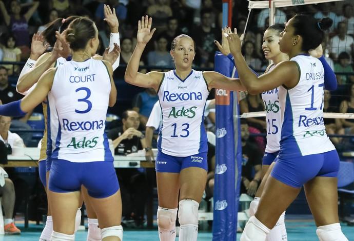 Rio Pinheiros Superliga Feminina vôlei (Foto: Ricardo Bufolin/ECPinheiros)
