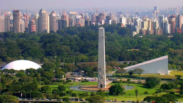 Parque do Ibirapuera é o mais importante parque urbano da cidade de São Paulo (Foto: Reprodução)