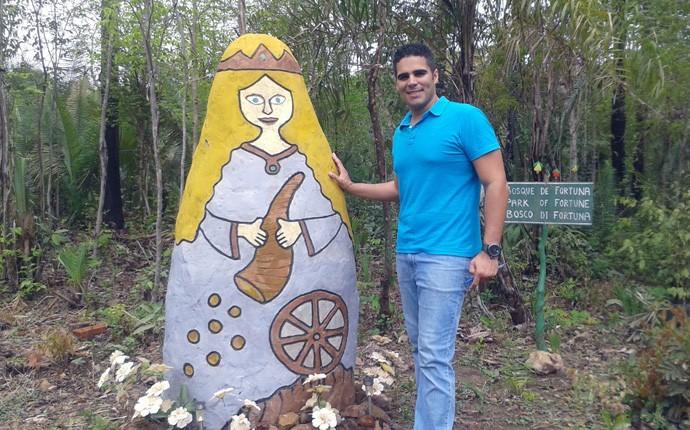 Helder Vilela visita a cidade de José de Freitas-PI e desvenda os mistérios da comunidade (Foto: Gshow/ Rede Clube)