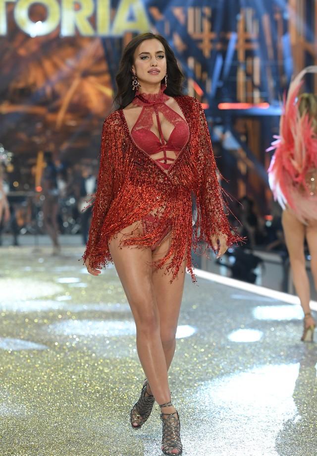 Irina Shayk na Victoria's Secret (Foto: Getty Images)