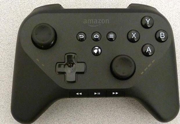 Anatel vaza imagens do suposto controle do videogame da Amazon (Foto: Reprodução/Anatel)