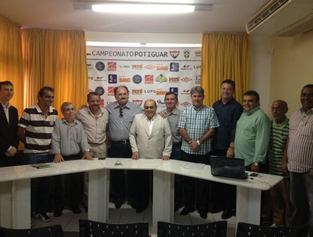 Presidente da Federação Norte-Rio-grandense de Futebol tem mandato prorrogado por mais quatro anos (Foto: Alan Oliveira/Divulgação)