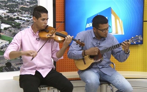 Começa nesta quinta-feira (20) o Circuito de Concertos Didáticos em Roraima (Foto: Roraima TV)