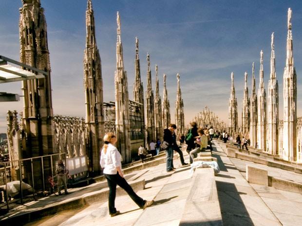 Milão, na Itália (Foto: Turismo Milan/Divulgação)