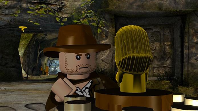 Lego Indiana Jones: The Original Adventures traz o clássico herói (Foto: Divulgação)