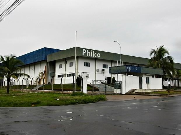 Philco tem fábrica instalada no Distrito Industrial II (Foto: Adneison Severiano/G1 AM)