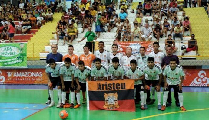Copa TV Amazonas de Futsal 2014 Aristeu Vc no esporte (Foto: Emano Pereira / Vc no esporte)