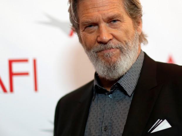 Jeff Bridges em prêmio em Los Angeles, nos Estados Unidos (Foto: Mario Anzuoni/ Reuters)