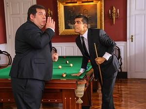 Jorginho e Pedrão em cena do filme Os Caras e Pau (Foto: Divulgação)