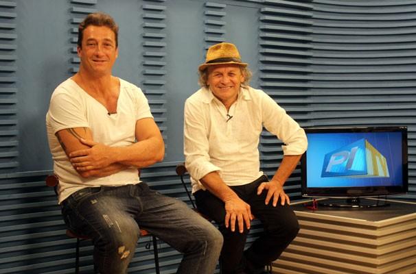 Francisco Carvalho e Jone Brabo (Foto: Katylenin França/TV Clube)