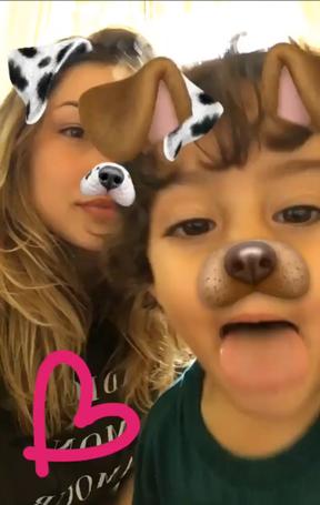 Sasha com o irmão (Foto: Reprodução / Instagram)