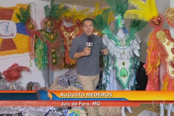 Augusto mostrou detalhes sobre o cancelamento do carnaval em cidades de Minas Gerais (Foto: Divulgação | TV Integração )