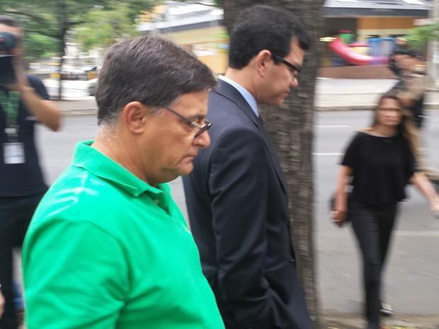 José Alberto de Castro, réu da chacina de Unaí (Foto: Pedro Ângelo/G1)