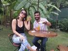 Laura Keller e Jorge Sousa mostram preparativos para casamento