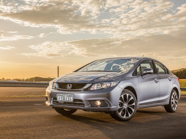 Honda Civic 2015 (Foto: Marcos Camargo/Autoesporte)