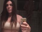 Uau! Simony mostra barriga ainda mais sarada em foto na web