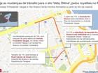 Ato 'Veta, Dilma', pelos royalties no Rio, terá interdições no trânsito
