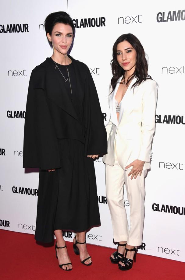 Ruby Rose e Jessica Origliasso no Glamour Awards 2017 (Foto: Stuart C. Wilson/Getty Images)