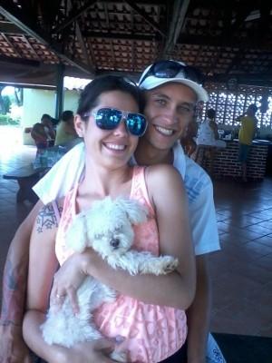 Poodle era do casal há um ano (Foto: Jéssica de Melo / Arquivo pessoal)