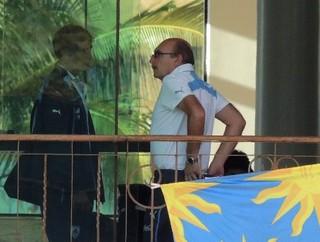lugano médico alberto pan uruguai resort sete lagoas (Foto: Lucas Rizzatti/GloboEsporte.com)