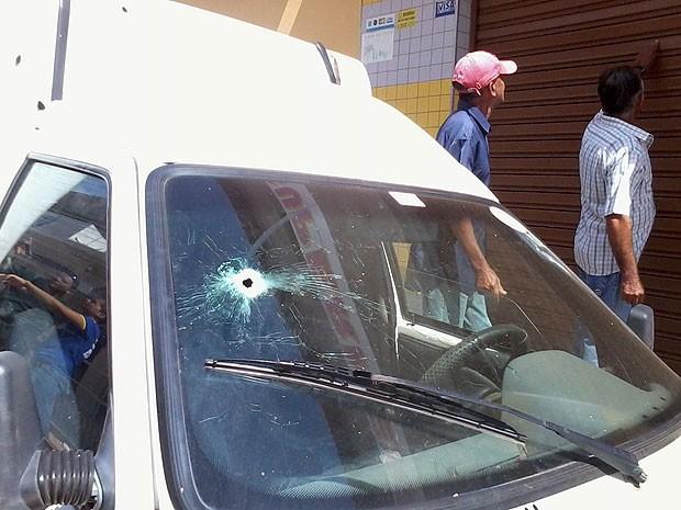 Grupo armado invade banco em Barra do Mendes, na Bahia (Foto: Arquivo Pessoal)