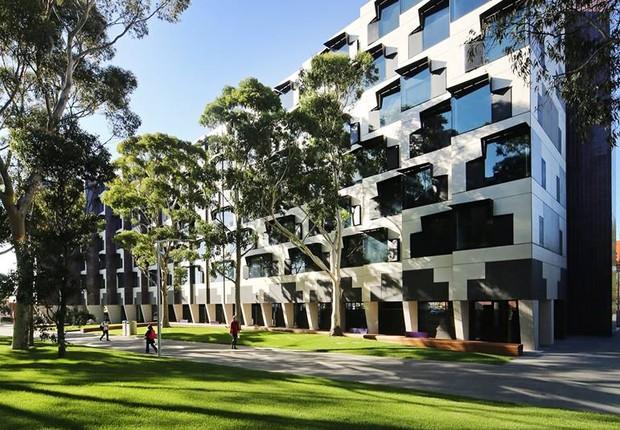 Universidade Monash, em Melbourne, Austrália (Foto: Divulgação)