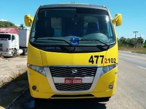 Ônibus também fazia ultrapassagens perigosas na BR-304, diz PRF (Foto: PRF/ Divulgação)