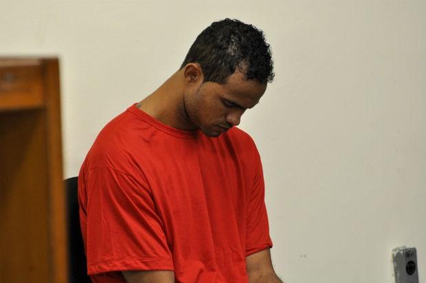 O goleiro Brunoi condenado a 22 anos e 3 meses de prisão por homicídio triplamente qualificado, sequestro, cárcere privado e ocultação de cadáver (Foto: Renata Caldeira / TJMG)