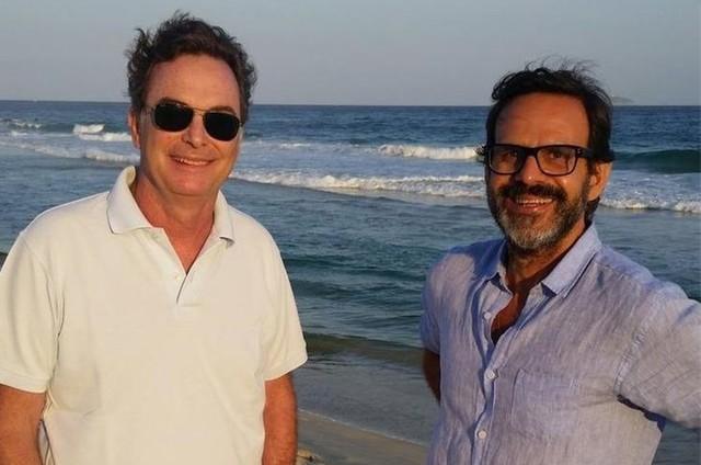 Ronald Ingber e Alberto Renault (Foto: Divulgação)