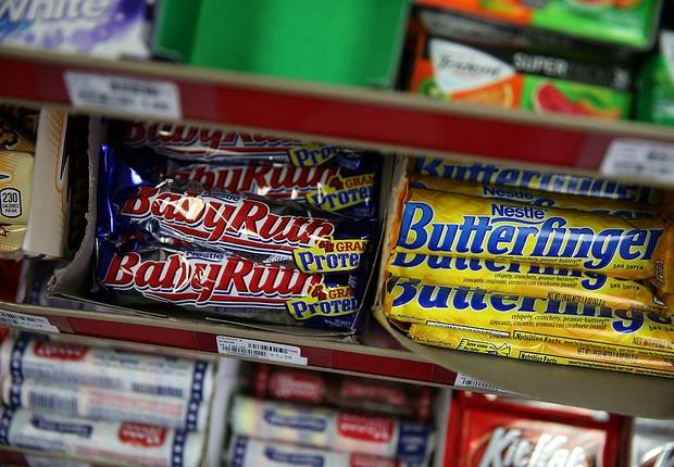 Nestlé é fabricante de produtos como Butterfinger e Baby Ruth (Foto: Justin Sullivan/Getty Images)