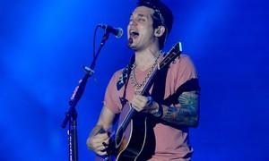 John Mayer é unamidade entre os meninos da Pagan John (Foto: Flavio Moraes/G1)