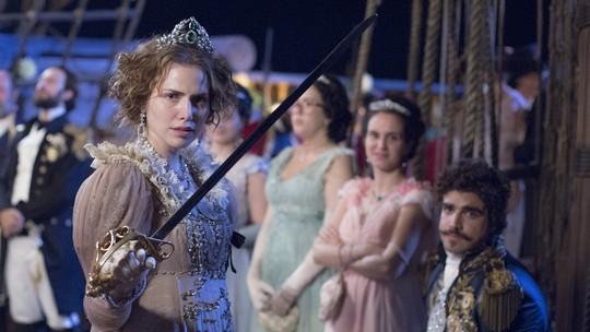 Letícia Colin presta homenagem com papel de 'Novo Mundo'; assista ao vídeo!