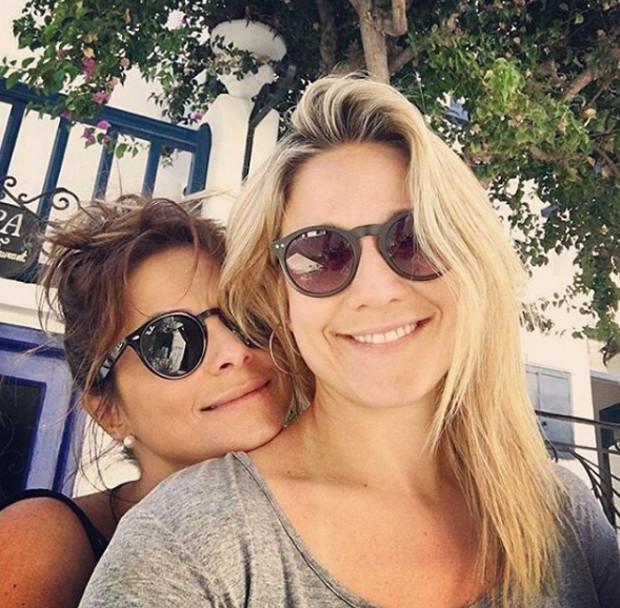 Fernanda Gentil e Priscila Montandon  (Foto: Reprodução/Instagram)