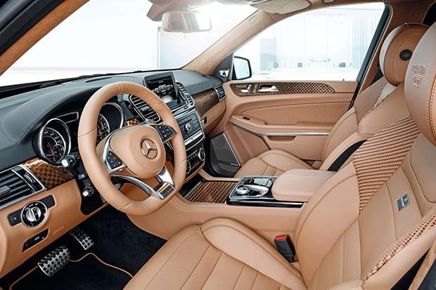 Mercedes GLS 63 (Foto: Divulgação)