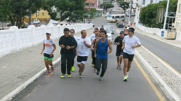 Corrida cultural mostra pontos históricos de Salvador (Foto: TV Bahia)