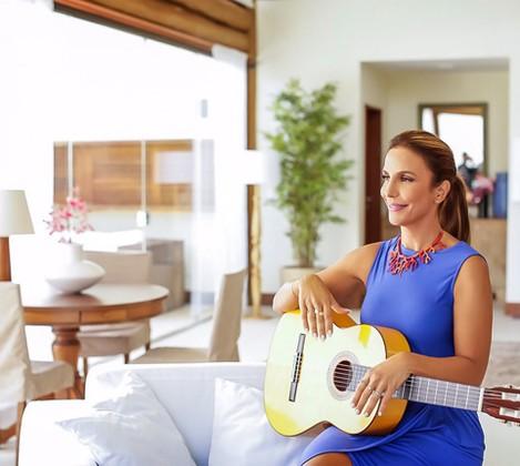 Ivete Sangalo nas gravações da nova temporada do Superbonita 2016